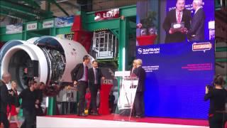 Livraison 1er Leap de série a Airbus A320neo