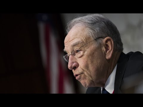GOP's Grassley against 2 Trump judicial picks