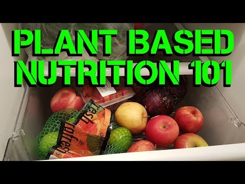 NUTRITION BASICS 101 - WHOLE FOOD PLANT BASED DIET NATURAL