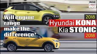 2018 Hyundai Kona vs 2018 Kia Stonic (technical comparison)