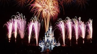 "♥♥ The Walt Disney World ""Wishes"" Fireworks Show! (in HD)"