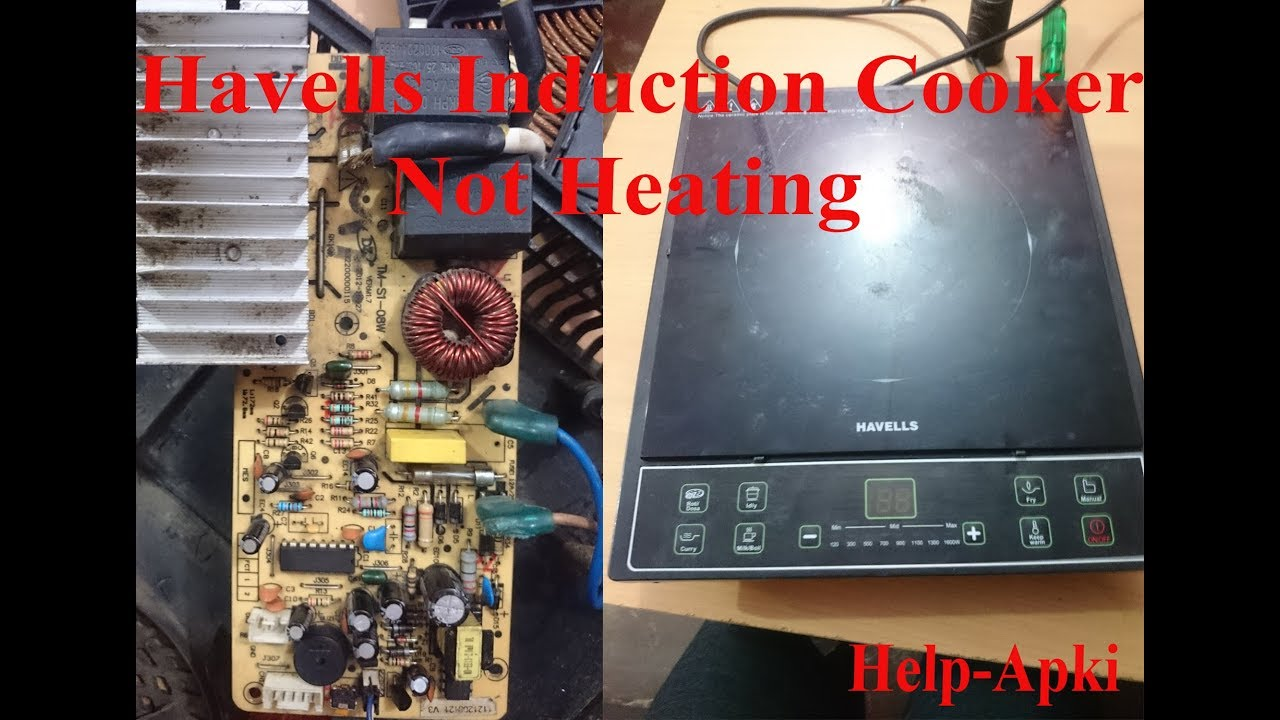 Havells Induction Cooker Cook Top Not Heating Repair Youtube Vacuum Tube Schematics Get Free Image