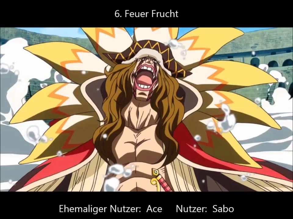 One Piece Früchte