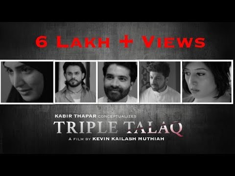 Triple Talaq  A short film awarded as the best digital content  By Kevin Kailash Muthiah