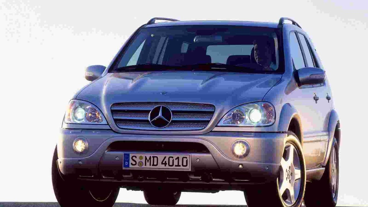 mercedes benz ml55 amg review youtube. Black Bedroom Furniture Sets. Home Design Ideas