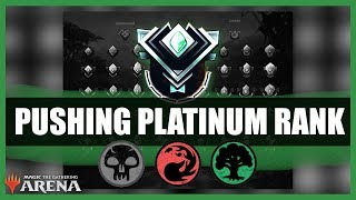 Pushing Platinum Rank | Magic the Gathering Arena