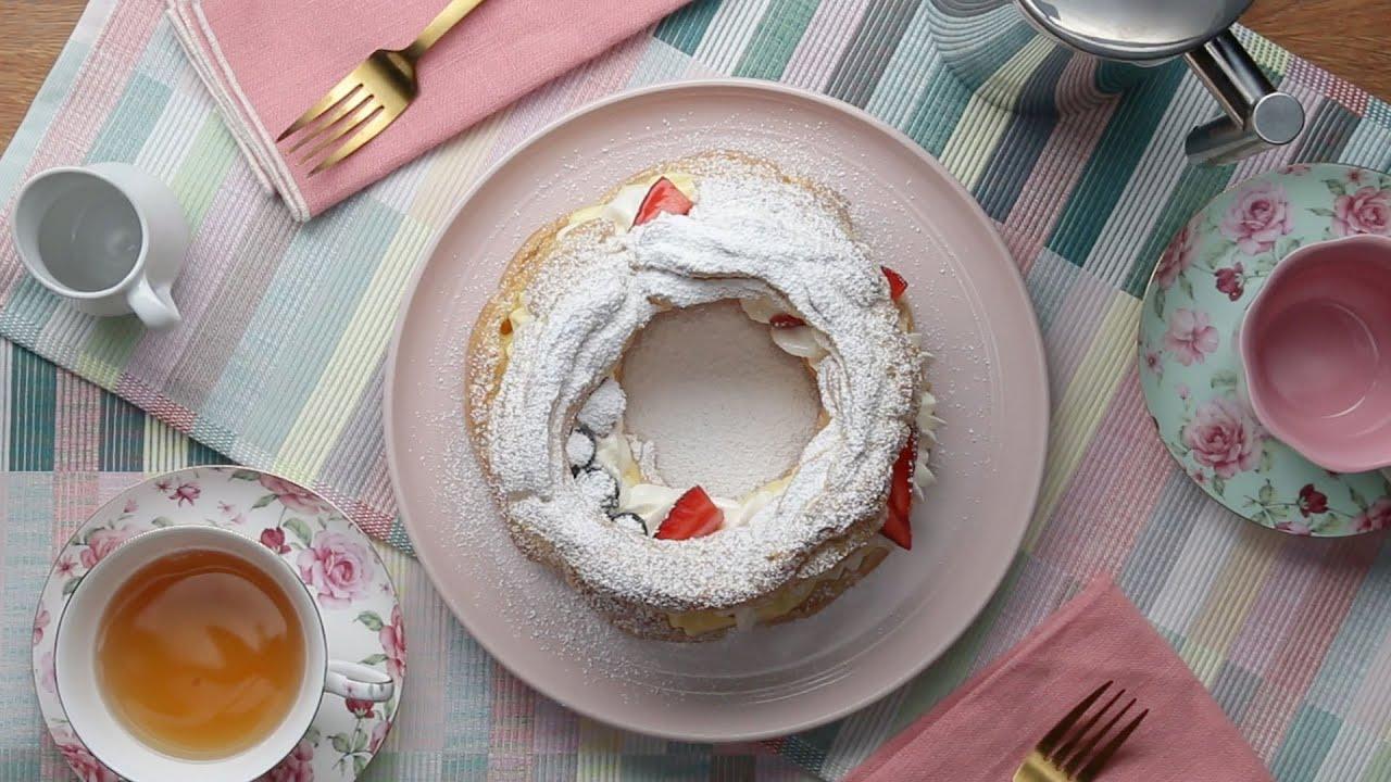 maxresdefault - Berries & Cream Puff Ring