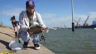 Thanksgiving Eve 2015 | Flounder Fishing | Galveston, Texas