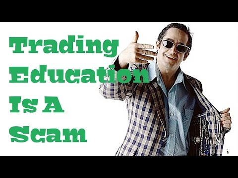 Stocks & Options: Trading Education is a Scam‏