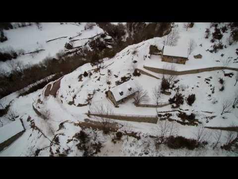 El Grau nevado, visto desde el cielo (21-01-2017)