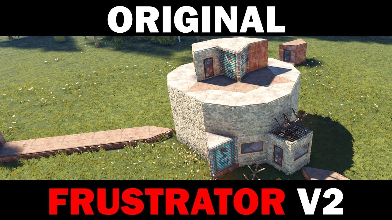 Download Original Frustrator V2 - Small Group Base with Trapped, Unlootable Loot Rooms