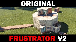 Original Frustrator V2   Small Group Base with Trapped Unlootable Loot Rooms
