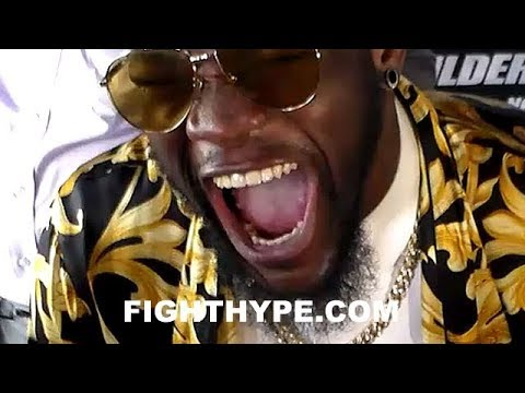 DEONTAY WILDER RESPONDS TO ANTHONY JOSHUA'S FACETIME WITH 50 CENT; IN DISBELIEF