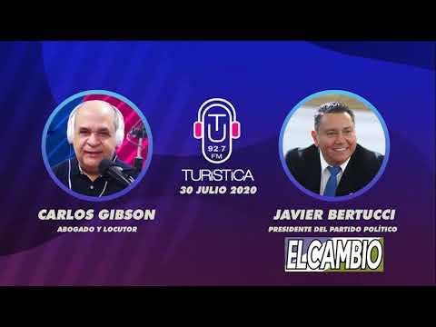 Bertucci en entrevista por Turística | El evangelio y la política, Elecciones Asamblea Nacional 2020
