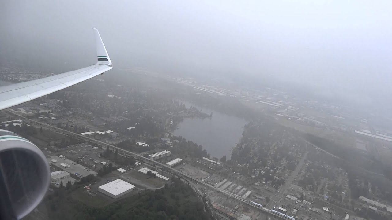 First Class Takeoff From Seattle On Alaska Airlines Boeing