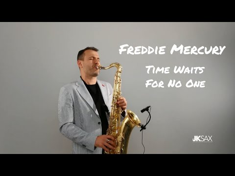 Freddie Mercury - Time Waits For No One [Instrumental Saxophone Cover By JK Sax]