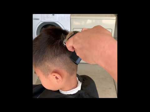 Hướng dẫn chi tiết cắt tóc nam tại nhà trong mùa dịch Covid 19