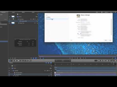 How to blur moving objects with Motion 5