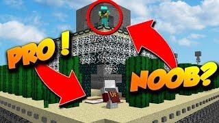 100 PRO VS 10 NOOBS PRISON SÉCURISÉE - ATTAQUE/DÉFENSE Minecraft
