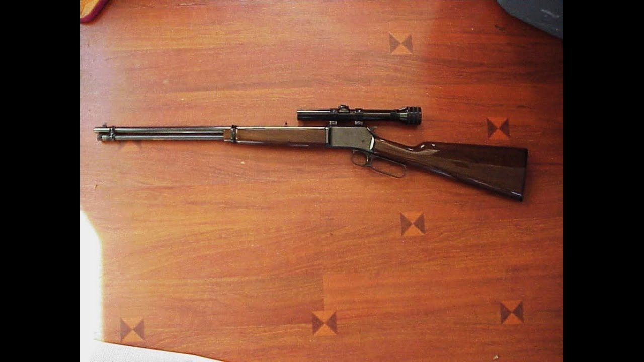 BROWNING BL 22 short stroke LEVER ACTION, WITH A REDFIELD 2 3/4 T-POST
