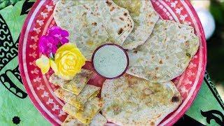 Indické bramborové placky se sýrem (Aloo Paratha)-nejen pro vegetariány