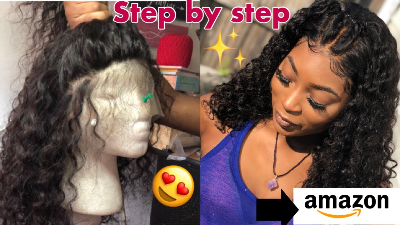 DONT SLEEP ON AMAZON HAIR |Beginner friendly & Very Detailed ! No Glue + Baby Hairs ✨Ft. VSHOW H