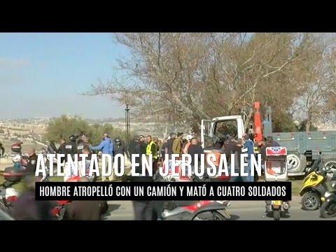 Cuatro muertos y 15 heridos en un ataque con un camión en Jerusalén Este