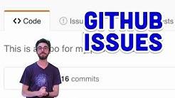 1.4: GitHub Issues - Git and GitHub for Poets
