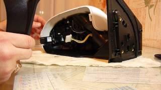 видео Как самому разобрать зеркало заднего вида Kia Rio