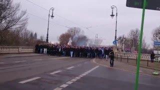 1.FC Magdeburg - Fanmarsch am 05.03.2016