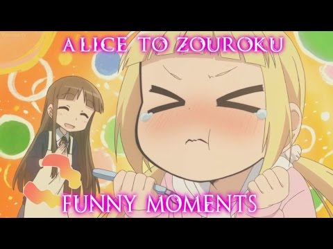 Giant Pancake | Alice to Zouroku | Funny Moments | DUB
