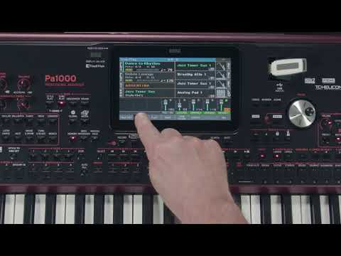 KORG Pa1000 - 04 - le mode Song Play