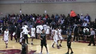 WINDSOR VS WEAVER HIGH SCHOOL BOYS VARSITY - FEB 2017.