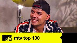 Capital Bra über Rap am Mittwoch, Bushido und sein Lieblingsschimpfwort | Top 100 Warm-Up
