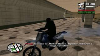 """Zagrajmy w GTA: San Andreas cz. 17 """"Podejrzany człowiek na stacji"""""""