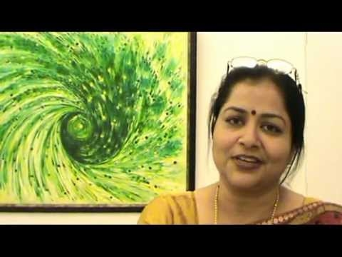 Jaipur   Painting Exhibition in Kalaneri Art Gallery and Academy of Fine Arts   Dr. Suman S. Khare