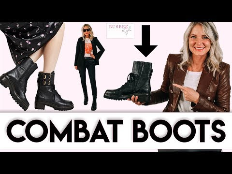 Three Ways To Wear Combat Boots