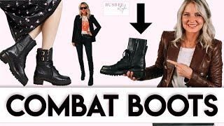 Three Ways To Wear Combat Boot…