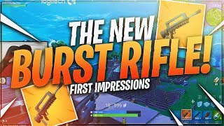 TSM Myth - LETS CHECK OUT THE NEW BURST RIFLE Fortnite BR Full Match