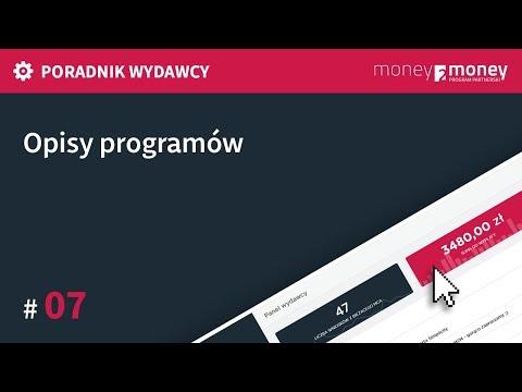 Poradnik Wydawcy Money2Money #07 - Opisy Programów