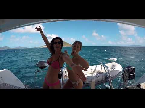 Sailing in the beautiful British Virgin Islands