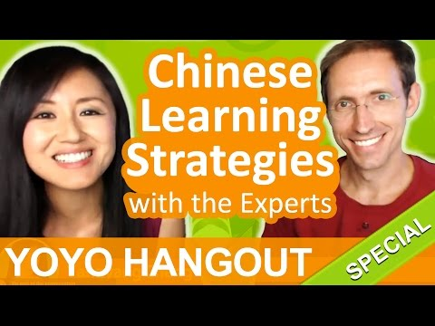 Chinese Learning Strategies with the Experts - Google Hangout On Air with Yangyang