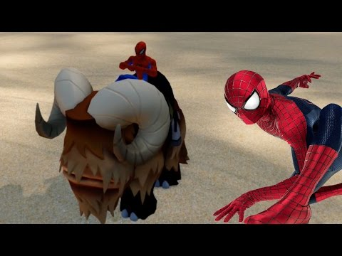 Spider Man and the Mammoth