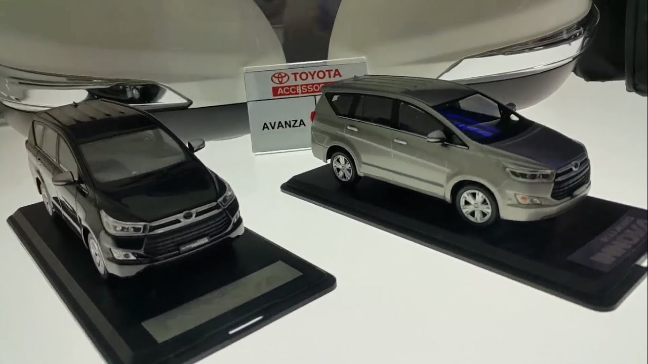 all new innova venturer aksesoris grand avanza diecast toyota 2 4 q 2016 youtube