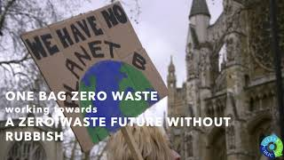 Shri Ram Universal School's 'All About the Environment Week' and A Future without Rubbish and #1BzW