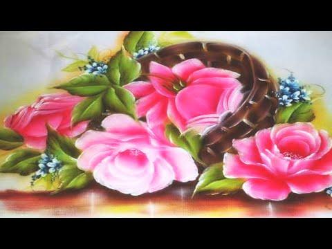 Curso de Pinceladas- Pintar hojas y flores - Silvia Mongelos de YouTube · Duração:  6 minutos 17 segundos