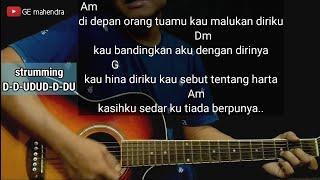 Download lagu Kunci Gitar BERBEZA KASTA - THOMAS ARYA | Chord Gitar Mudah
