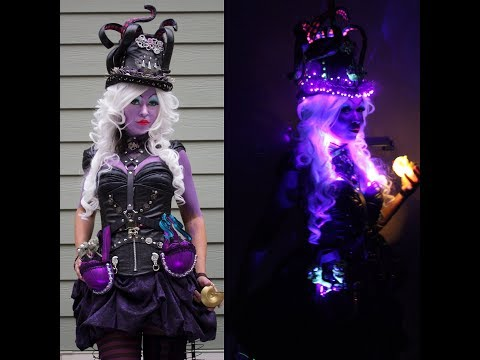 Steampunk Ursula cosplay reveal!!