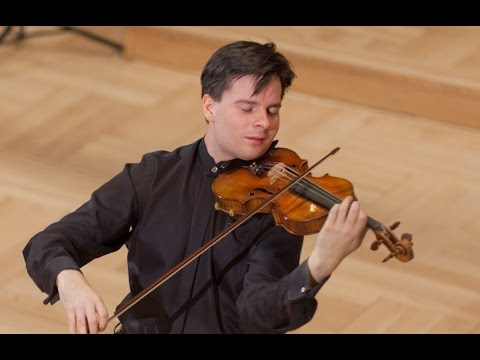 Stefan Tarara plays at 14th International Wieniawski Violin Competition (Stage 3)