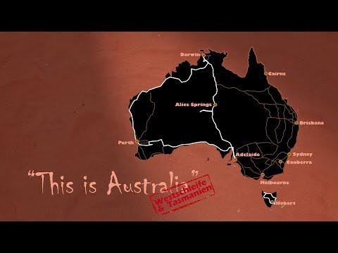 Westaustralien & Tasmanien 1/3 Australien Doku / Dokumentation Deutsch / Reportage